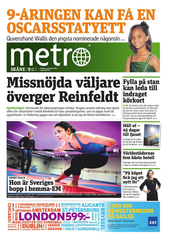 20130114 se malmo by Metro Sweden - issuu 92105c290db37