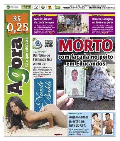 Agora - 17 de janeiro de 2013 by Amazonas Em Tempo - issuu d5f10d499ee