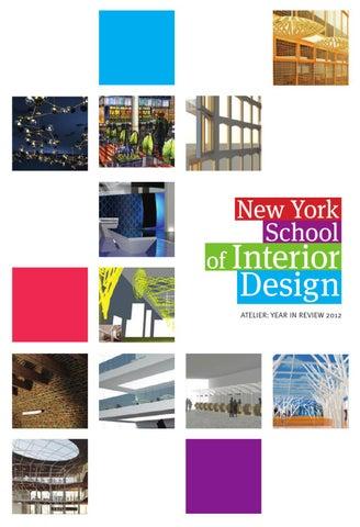 New York School of Interior Design issuu