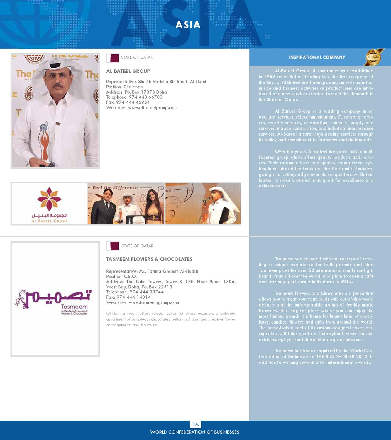Business Directory - 2012 by World Confederation of