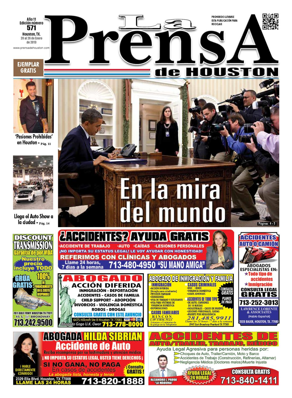 LA PRENSA DE HOUSTON 571 by La Prensa de Houston - issuu