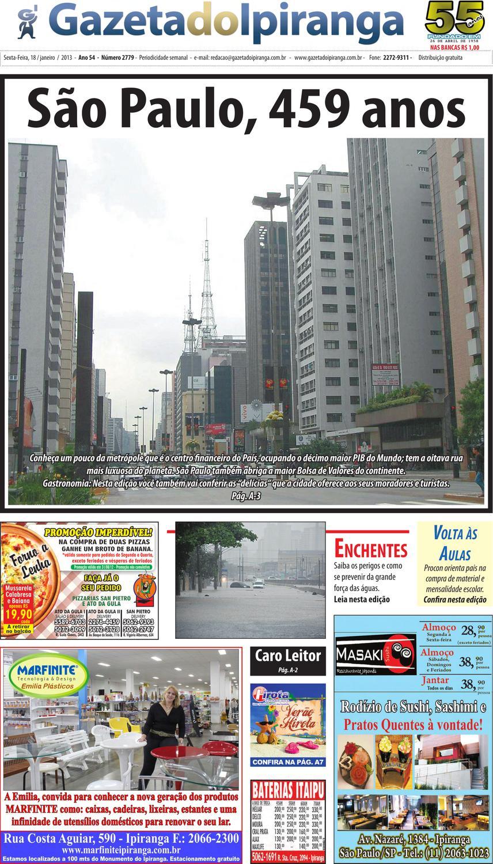 1513096a503 Gazeta do Ipiranga - Edição de 18 01 2013 by Casé Oliveira - issuu