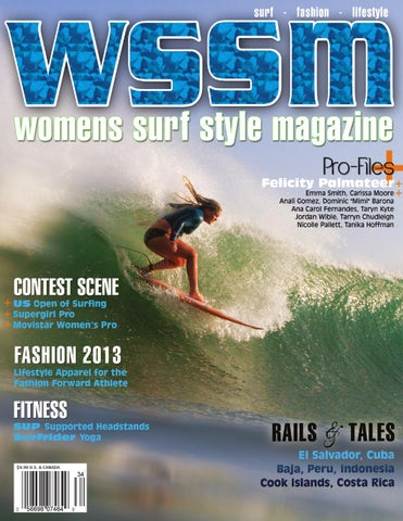 9d6849633cf697 WSSM Wtr Spr  13 Issue by WSSM Womens Surf Style Magazine - issuu