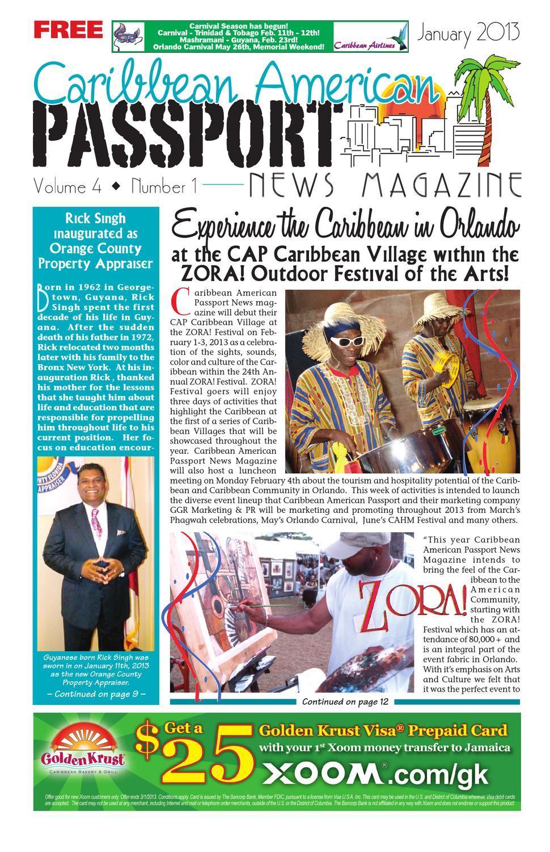 caribbean american passport newsmagazine january 2013 by