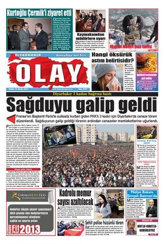 18 01 2013 Gazete Sayfalari By Diyarbakir Olaygazetesi Issuu