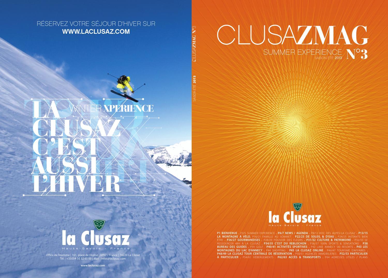 Clusazmag summer experience n 3 fr by office de tourisme de la clusaz issuu - La clusaz office tourisme ...