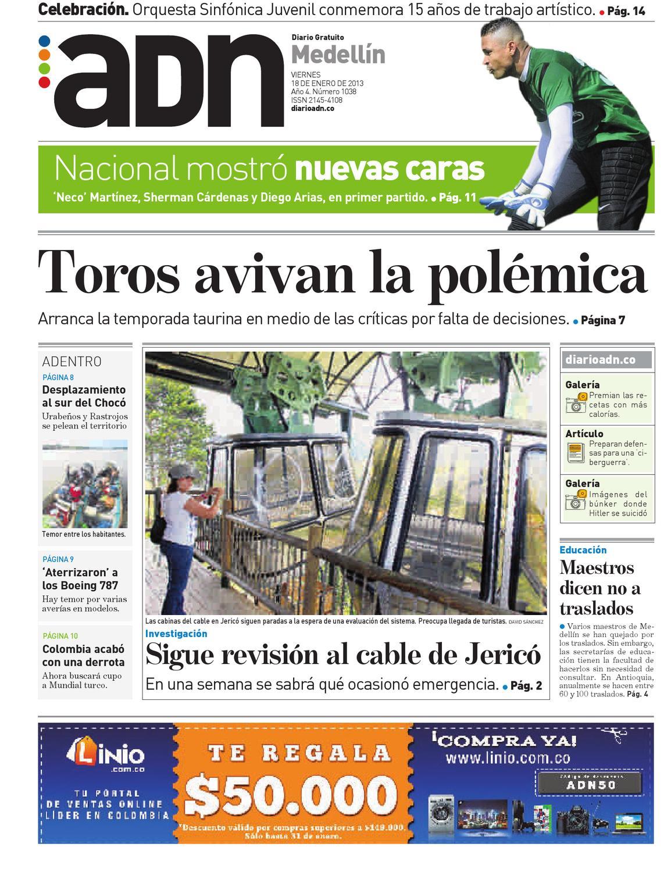 18 de enero Medellín by Diario ADN - issuu