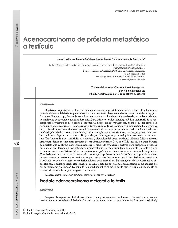 enolasa neuronal específica de próstata