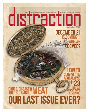 Distraction Apocalypse Issue