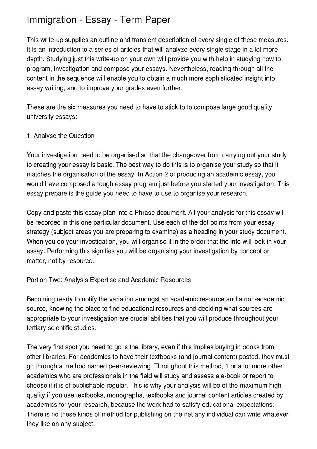 Essay Of City Life  Teenage Pregnancy Argumentative Essay also Essay On Violence Immigration  Essay  Term Paper By Dow Hess  Issuu Well Structured Essay