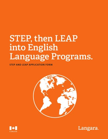 STEP and LEAP Guide by Langara College - issuu
