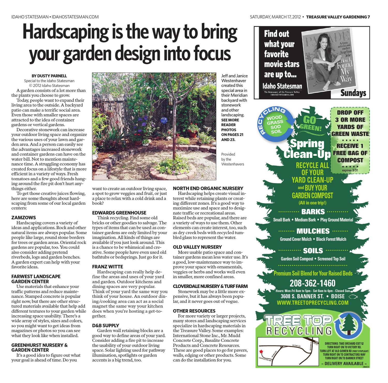 Idaho Statesman S Gardening Magazine March 17 By Idaho Statesman