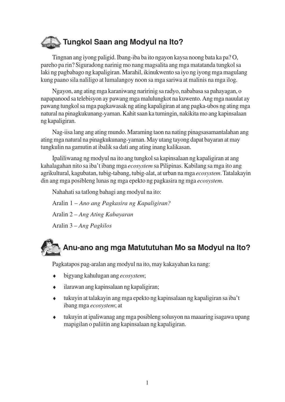 pagkawasak ng kalikasan at pagkaubos ng Ang biodiversity ay pagkakaiba at pagiging katangi-tangi ng lahat ng anyo na bumubuo sa natural na kalikasan ang biyolohiya o haynayan ay isang natural na agham na.