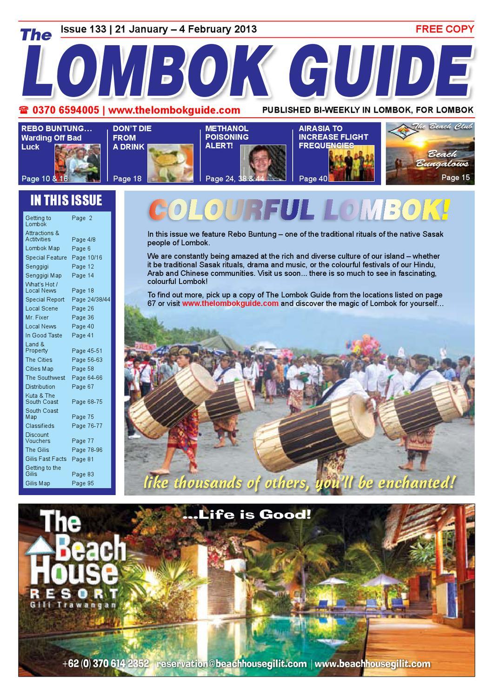 The Lombok Guide Issue 133 By Issuu Beach Fiesta  Ke Bali Dan