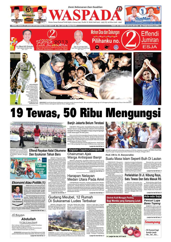 Waspada Senin 21 Januari 2013 By Harian Issuu Poduk Ukm Bumn Mr Kerbaw Keripik Bawang Bayam
