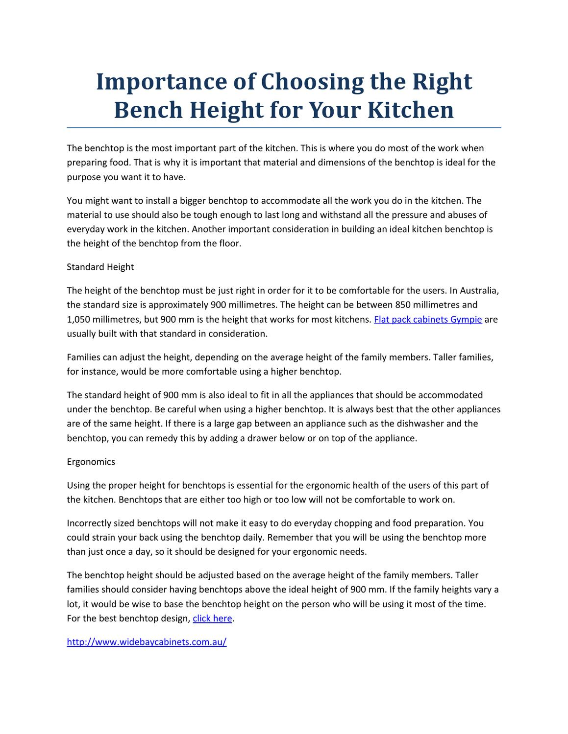 Admirable Importance Of Choosing The Right Bench Height For Your Machost Co Dining Chair Design Ideas Machostcouk