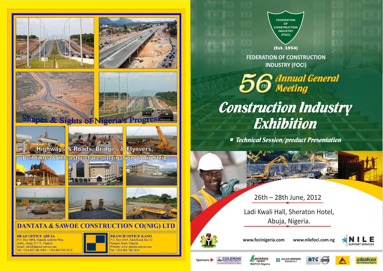 FOCI Exhibition 2012 Brochure