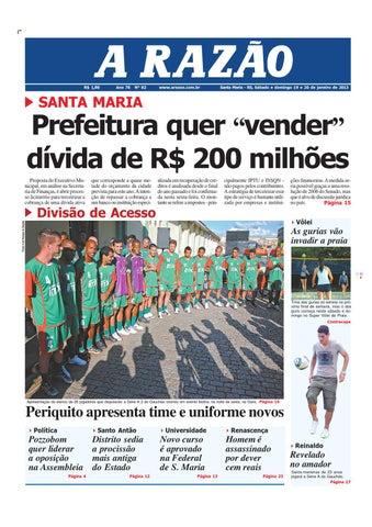 aac5bb3235 Jornal A Razão by Jornal A Razão - issuu
