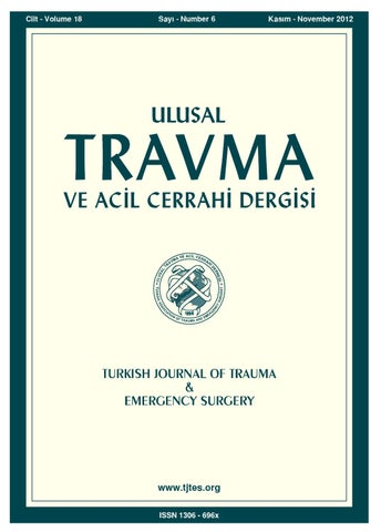 Travma 2012 6 By Karepublishing Issuu