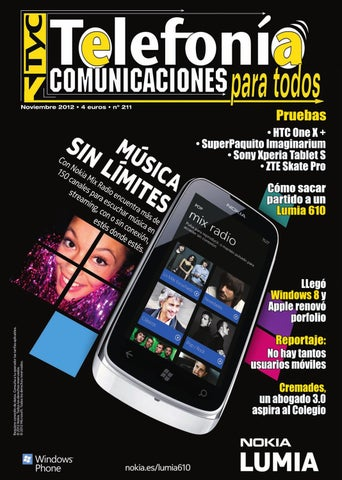 2207faa294b TyC Telefonia y Comunicaciones Noviembre 2012 by TyC Telefonia y ...