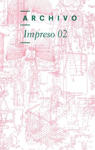 cd1c6f56652 Archivo Impreso 02 by ARCHIVO Diseño y Arquitectura - issuu