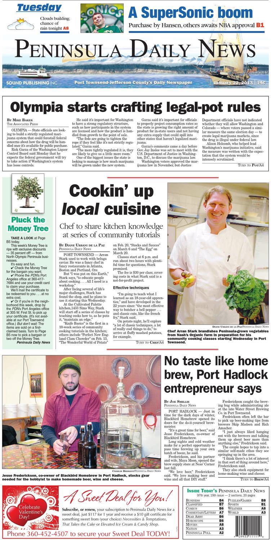 PDN20130122J By Peninsula Daily News U0026 Sequim Gazette Issuu