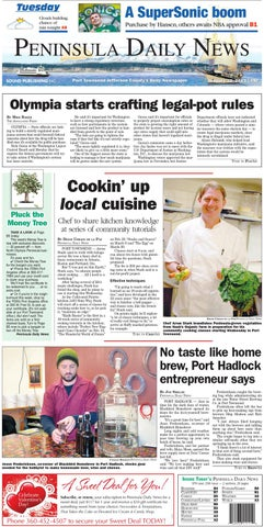 Great PDN20130122J By Peninsula Daily News U0026 Sequim Gazette Issuu