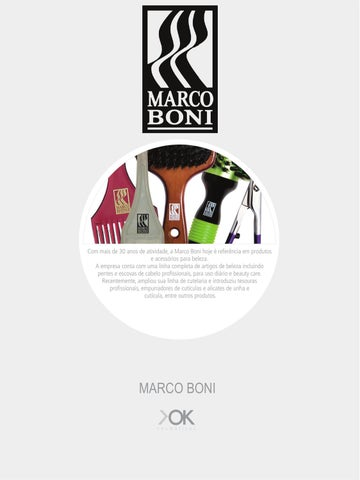 160a55b0b Catálogo Marco Boni - OK Cosméticos by Distribuidora OK Cosméticos ...