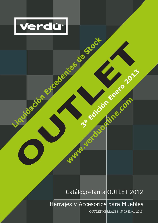 3 Edici N Outlet Cat Logo Tarifa Herrajes Para Muebles By Joaquin  # Tiradores Para Muebles Hafele