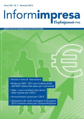 InformImpresa n. 1 - 2013 by Confartigianato-Imprese Udine - issuu 88f1b52e6848