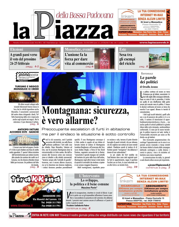 La Piazza della Bassapadovana - 2012dic n160 by lapiazza give emotions -  issuu c49d85991d7c
