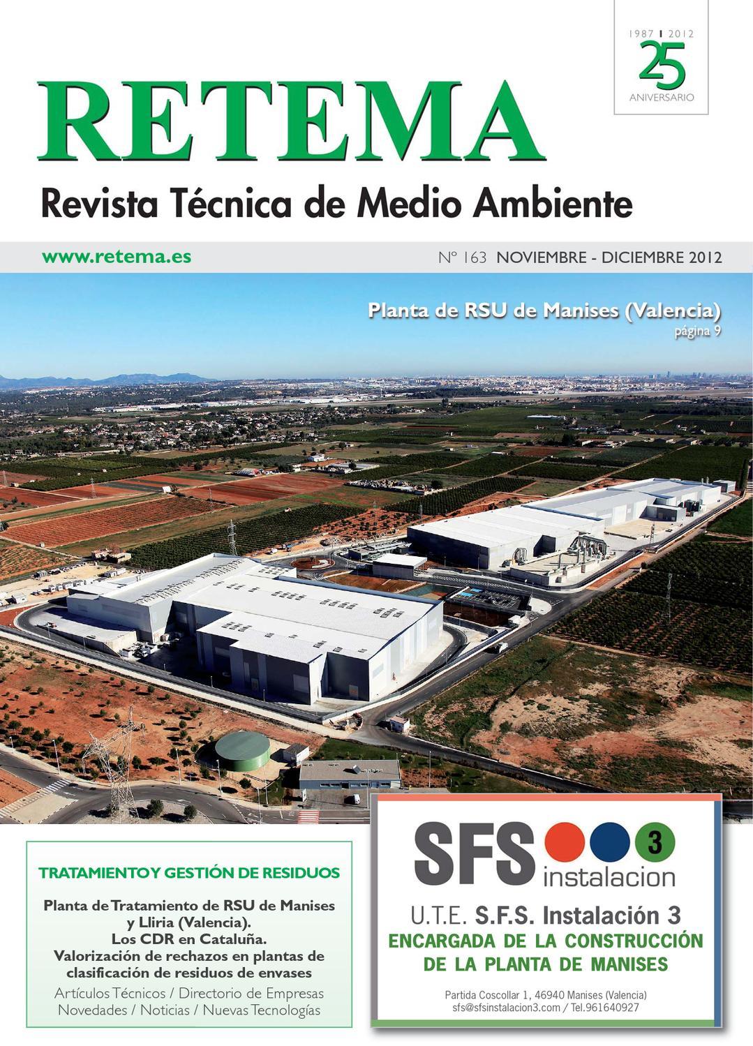 RETEMA, Revista Técnica de Medio Ambiente by RETEMA, Revista Técnica ...