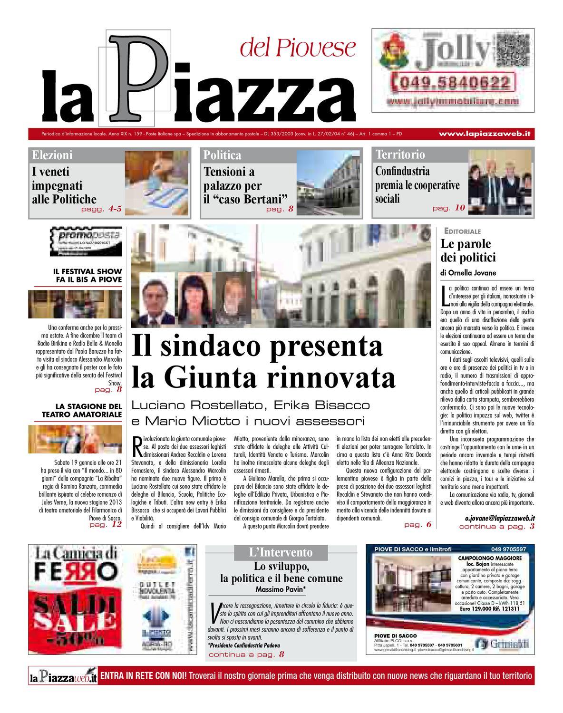 Centro Ceramica Di Sacco Lorenzo C Snc.La Piazza Del Piovese 2012dic N159 By Lapiazza Give Emotions Issuu