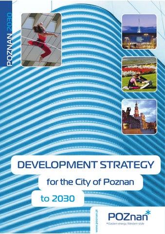 Poznan City Strategy 2030 By Honorata Grzesikowska Architect And
