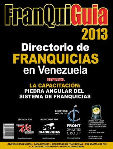 d2f1cacb9c1a Franquiguía 2013 by Top Shopping Centers - issuu