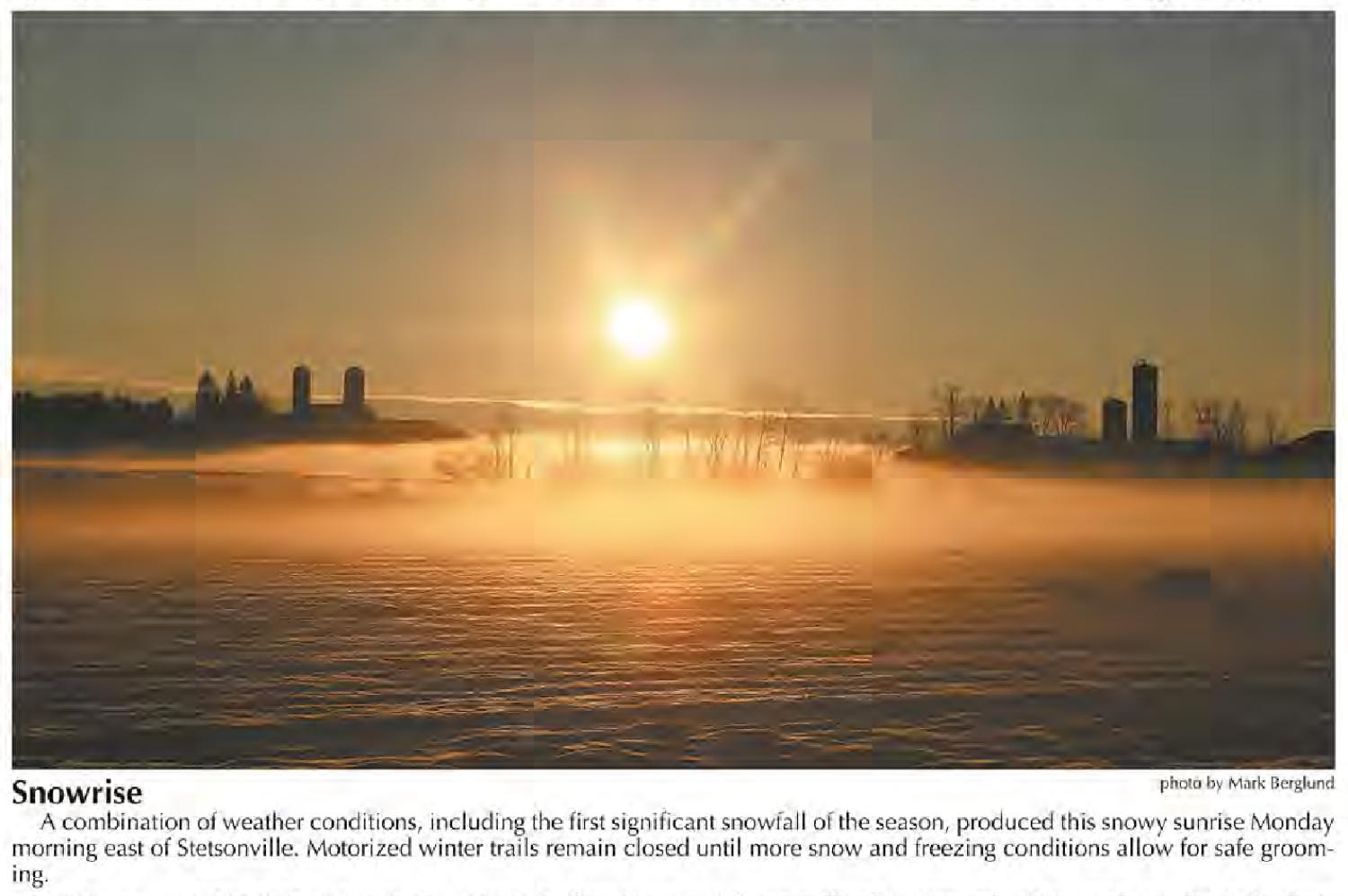 Snowless Foggy Night In Madison >> January 2013 Wna Member Photos By Wisconsin Newspaper Association