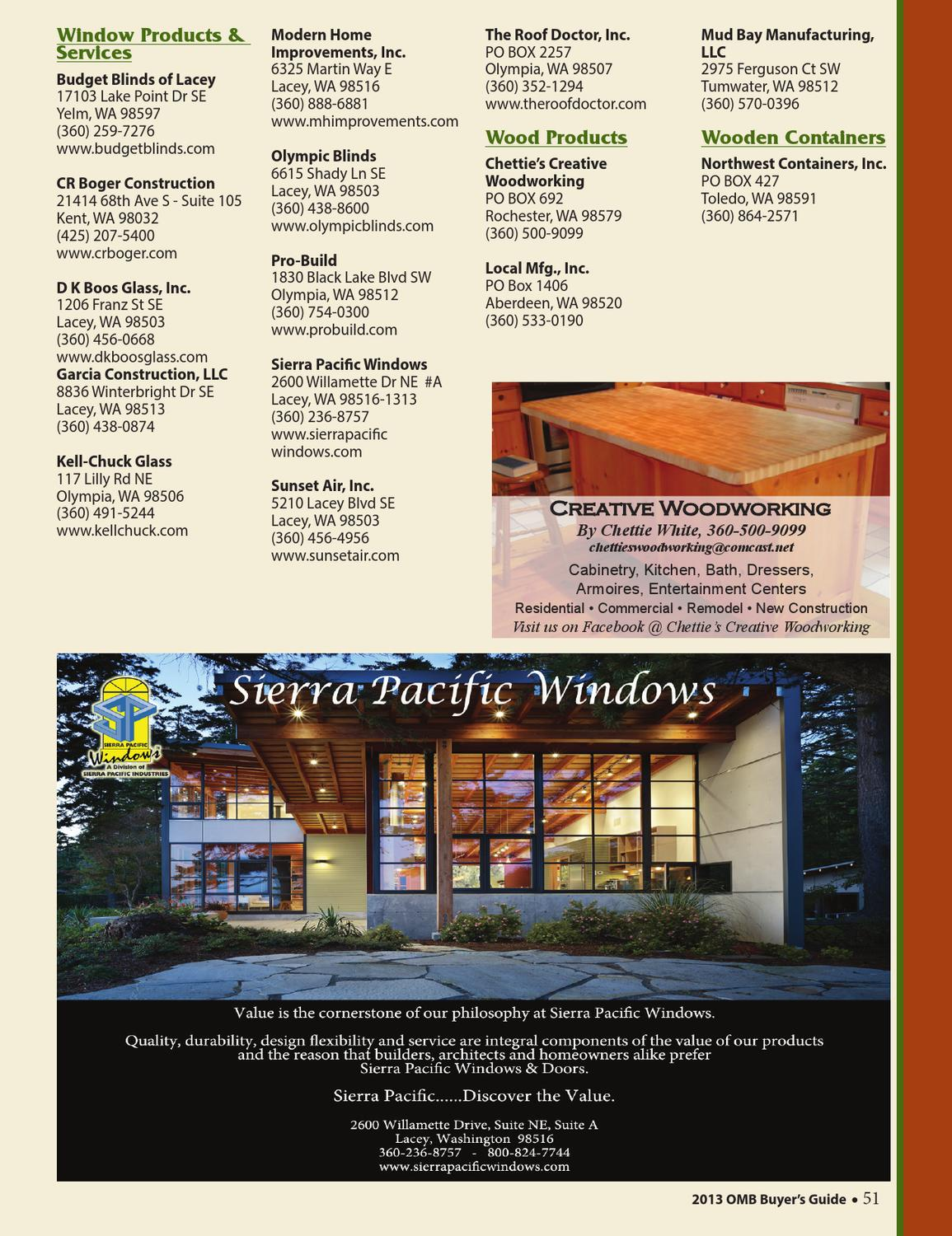 Olympia Master Builders Buyer S Guide By Olympia Master