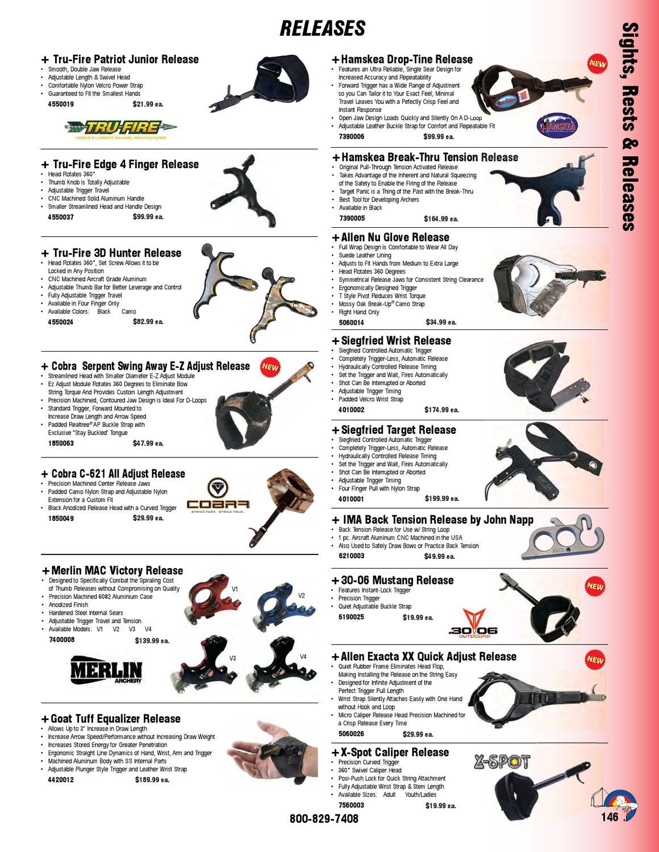 Allen Company Nu Glove Style Archery Release