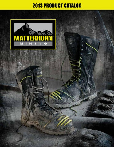 b3361512688 Matterhorn Footwear Catalog 2013 by H.H. Brown Work & Outdoor Group ...