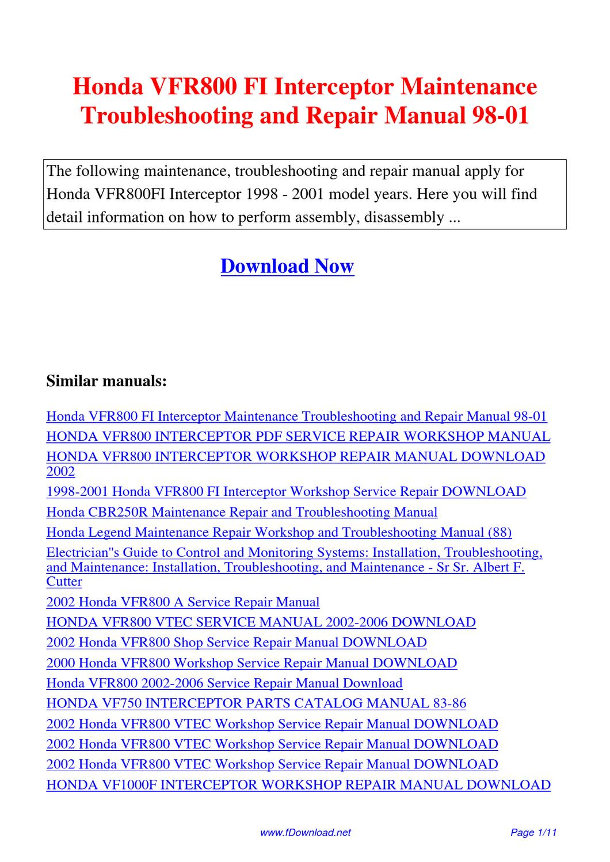 Issuu Is A Digital Publishing Platform That Makes It Simple To Publish Bmw L6 M6 Electrical Troubleshooting And 87car Wiring Diagram Honda Vfr800 Fi Interceptor Maintenance Repair Manual 98 01 By Fu Juan
