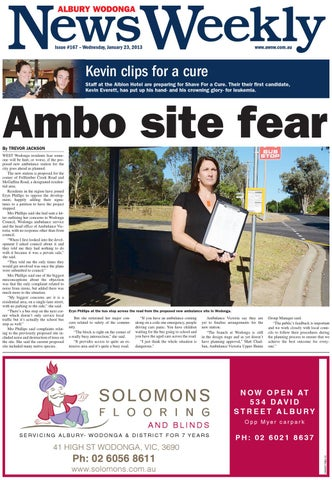 Albury Wodonga NewsWeekly, Issue #167, Wednesday 23th January, 2013