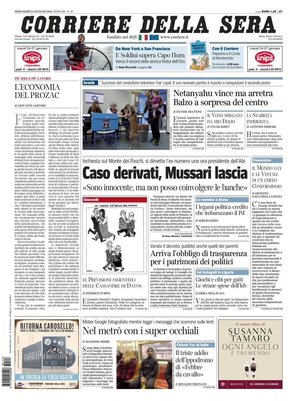 Corriere Della Sera 23-01-2013 by ACMilanArabic - issuu deb09f90e7c