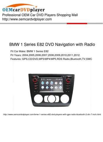 BMW E82 DVD Navigation with Radio Manual by OEM Car Electronics - issuu