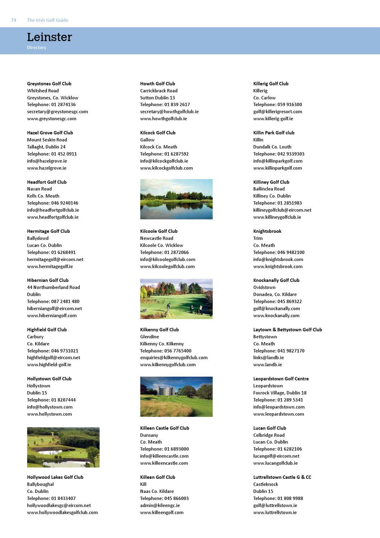 Irish Golfers Guide by The Golf Guide - issuu