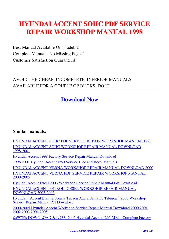 hyundai lantra 1998 pdf service manual download
