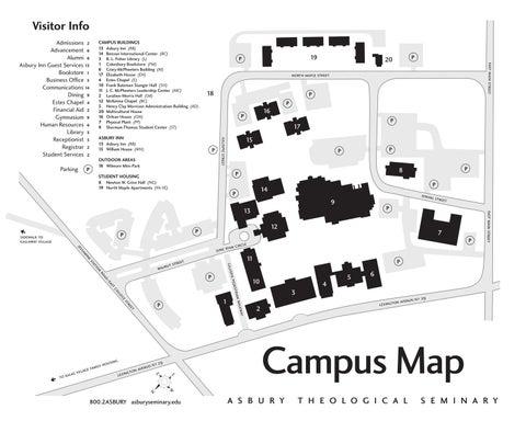 asbury seminary ky campus map 2012 by Asbury Theological Seminary