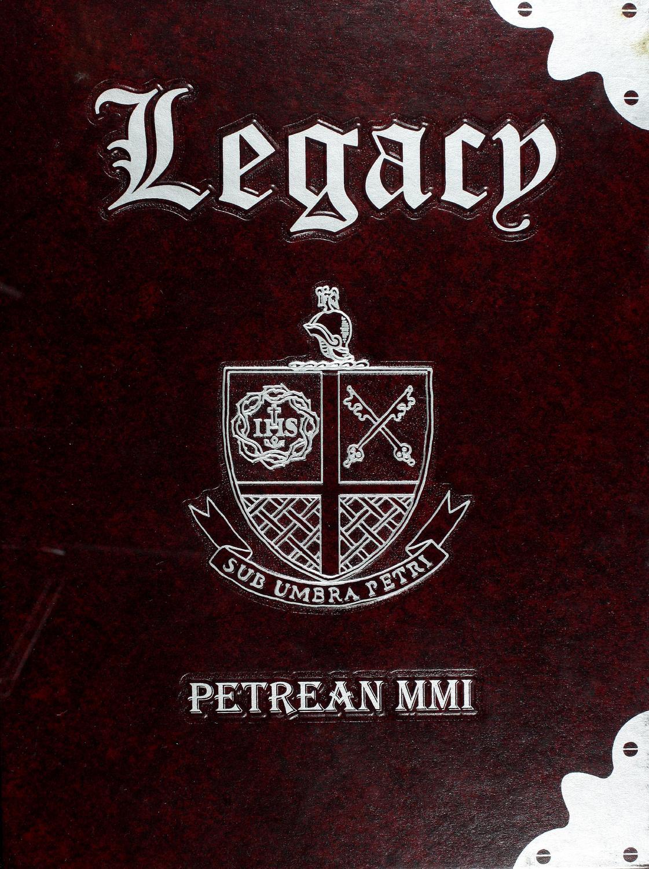 2001 Petrean by Saint Peteru0027s Prep