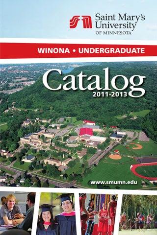 4abc5a6a7cfc 2011-13 Winona Undergraduate Catalog by Saint Mary s University - issuu