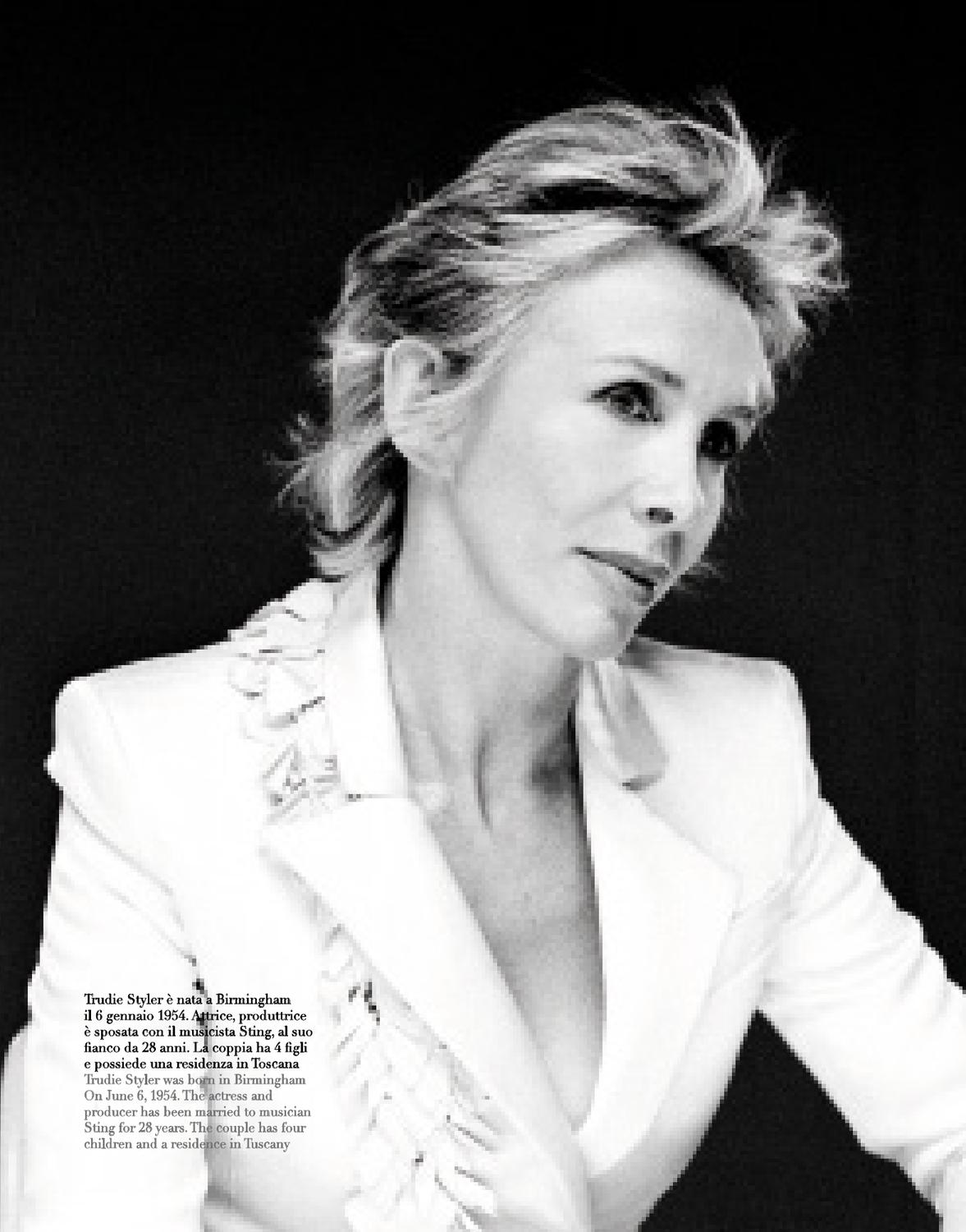 Trudie Styler (born 1954) Trudie Styler (born 1954) new photo