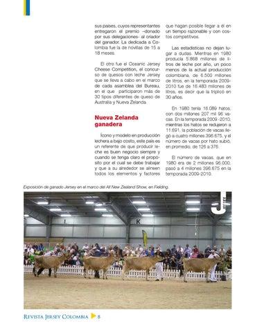 36e36ee54af Jersey Colombia - Julio 2011 by Asociación Colombiana de Criadores ...